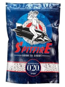 SACHET BILLES REFERMABLE SPITFIRE 5000 X 0.20 G BLANCHES