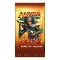 1 BOOSTER DE 15 CARTES SUPPLEMENTAIRES LES COMBATTANTS D' IXALAN DE MAGIC THE GATHERING