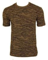 TEE SHIRT CAMOUFLAGE AIR FORCE DESERT COL ROND ET MANCHES COURTES