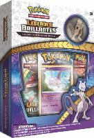 COFFRET / BOX POKEMON LEGENDES BRILLANTES MEWTWO SERIE SL 3.5 COLLECTION AVEC PIN'S