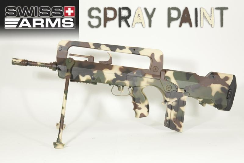 bombe peinture spray camouflage design kaki clair 400ml swiss arms metal plastique airsoft 603705. Black Bedroom Furniture Sets. Home Design Ideas