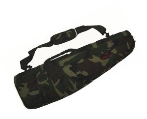 HOUSSE DE PROTECTION / TRANSPORT COMMANDO CAMO WOODLAND 95 CM DMONIAC