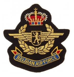 ECUSSON / PATCH BELGIAN AIR FORCE THERMO COLLANT AIRSOFT