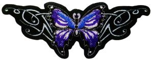 ECUSSON / PATCH BRODE PAPILLON VIOLET
