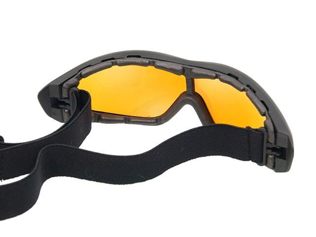 masque lunette de protection fl8013 ecran jaune solaire. Black Bedroom Furniture Sets. Home Design Ideas