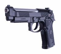 M9 KJ WORKS ELITE IA CO2 BLOWBACK CANON CHROME CULASSE MOBILE GBB