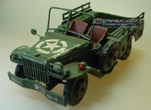 JEEP MINIATURE DODGE WC51 MODEL US EN METAL