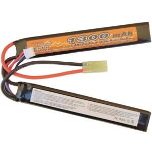 BATTERIE LIPO 7.4V 1300 MAH 15C/BURST 30C 2 STICKS VB POWER