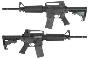 FUSIL A BILLES M4A1 GAZ BLOWBACK NOIR KING ARMS 2 JOULES AIRSOFT