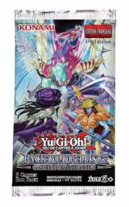 1 BOOSTER DE 5 CARTES SUPPLEMENTAIRES PACK DU DUELLISTE YU GI OH GARDIENS DIMENSIONNELS