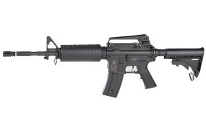 COLT M4 A1 AEG FULL METAL SEMI ET FULL AUTO HOP UP + SON 2EME CHARGEUR 1.2 JOULE
