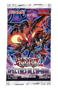 1 BOOSTER DE 9 CARTES SUPPLEMENTAIRES YU GI OH SPECTRES DE L'OMBRE