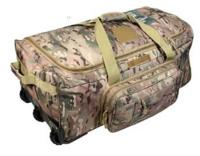 SAC DE TRANSPORT COMMANDO / VALISE TROLLEY A ROULETTES 80 X 45 X 38 CM MULTICAMO 101 INC