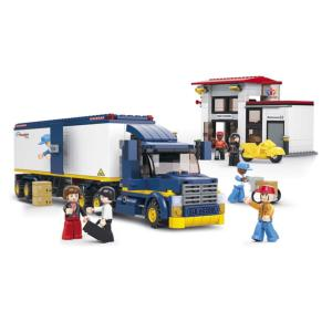 JEU DE CONSTRUCTION COMPATIBLE LEGO SLUBAN TOWN CAMION TRANSPORT M38-B0318 FIGURINES ARTICULES