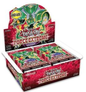 24 BOOSTERS DE 9 CARTES SUPPLEMENTAIRES YU GI OH FORCE EXTREME