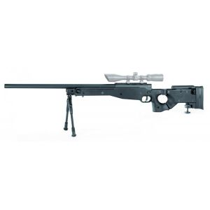 MAUSER SR FOLDING STOCK SPRING CHASSIS ET CANON METAL 1.9 JOULE + BIPIED METAL