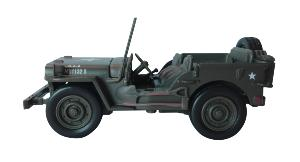 JEEP WILLYS U.S.A MINIATURE DE LA SECONDE GUERRE MONDIALE ECHELLE 1/32