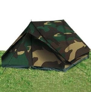 "TENTE "" MINI PACK STANDARD "" ETANCHE 2 PLACES CAMOUFLAGE WOODLAND"