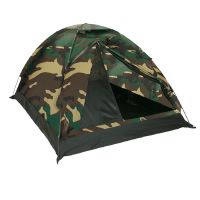 "TENTE "" IGLOO SUPER "" ETANCHE 2 PLACES CAMOUFLAGE WOODLAND"