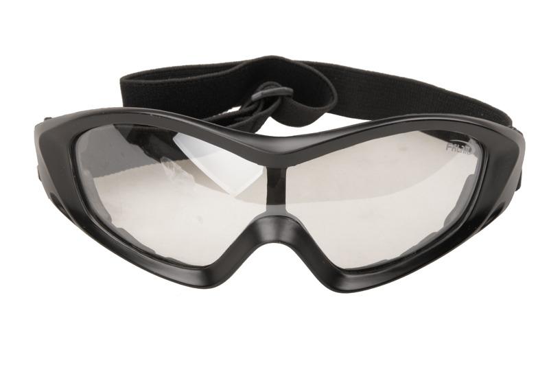 Masque lunette de protection fl8013 ecran jaune orange solaire protection uv 400 51617121 airsoft - Lunette protection ecran ...