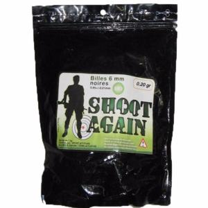 SACHET DE 1 KG DE BILLES BIODEGRADABLES BLANCHES 0.20 G SHOOT AGAIN SOIT ENV 5000 BBS