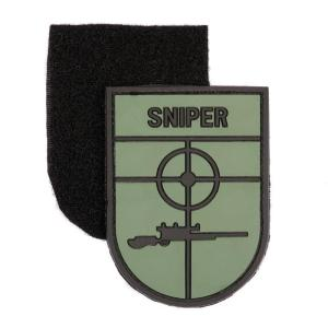 ECUSSON / PATCH 3D PVC SCRATCH SNIPER AIRSOFT