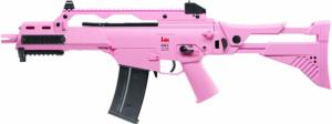 G36 IDZ PINK H&K AEG SEMI ET FULL AUTO  SHOOT UP 0.5 JOULE