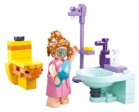 JEU DE CONSTRUCTION COMPATIBLE LEGO SLUBAN GIRL'S DREAM SALLE DE BAIN WC DOUCHE LAVABO M38-B0800A FIGURINE ARTICULE