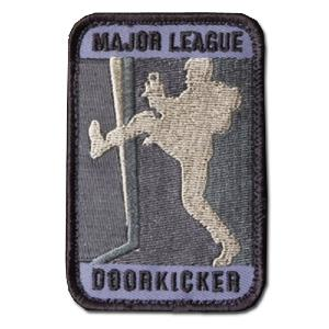 ÉCUSSON OU PATCH MAJOR LEAGUE DOORKICKER ACU LIGHT GRIS MSM