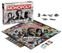 MONOPOLY THE WALKING DEAD AMC SERIE TV
