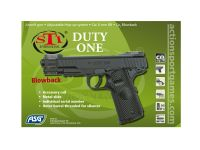 STI DUTY ONE CO2 ASG BLOWBACK HOP UP METAL LOURD 1.5 JOULE