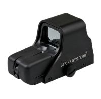 ADVANCED DOT SIGHT 551 SMALL NOIRE VISEE POINT ROUGE ET POINT VERT 21MM ASG 16833