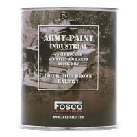 POT DE PEINTURE MILITAIRE INDUSTRIEL FOSCO 1 L MUD BROWN