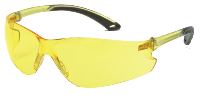 LUNETTE DE PROTECTION SWISS ARMS JAUNE LEGERE ANTI-BUEE