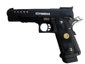 HI CAPA 5.1 K WE VERSION NOIR GAZ BLOWBACK FULL METAL SEMI AUTO 1 JOULE ANCIENNE VERSION