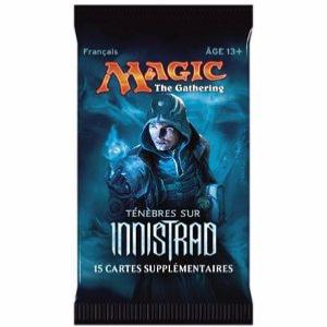1 BOOSTER DE 15 CARTES SUPPLÉMENTAIRES TENEBRES SUR INNISTRAD DE MAGIC THE GATHERING