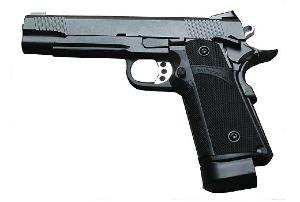 HI-CAPA KP-05 KJWORKS FULL METAL CO2 BLOWBACK NOIR CULASSE MOBILE 1 JOULE