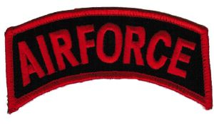 ECUSSON OU PATCH AIRFORCE BRODE THERMO COLLANT