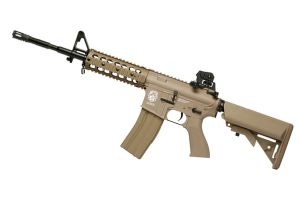 GR15 RAIDER L DST AEG TAN BLOWBACK / CULASSE MOBILE SANS CHARGEUR SANS BATTERIE HOP UP 1.2 JOULE