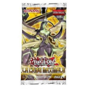 1 BOOSTER DE 9 CARTES SUPPLEMENTAIRES YU GI OH LA CRISE MAXIMALE