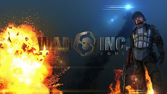 "CARTE PREPAYEE DE 5 � POUR LE JEU VIDEO DE COMBAT EN LIGNE ""WAR INC BATTLEZONE"""