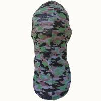 CAGOULE 1 TROU LEGERE 100% POLYESTER CAMOUFLAGE ETE