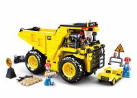 JEU DE CONSTRUCTION COMPATIBLE LEGO SLUBAN TOWN CAMION BENNE CARRIERE CHANTIER M38-B0806 FIGURINES ARTICULES