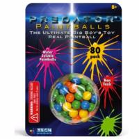 PACK DE 80 BILLES PAINTBALL BIODEGRADABLES ET NON TOXIC
