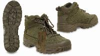 CHAUSSURE RECON LOW BOOTS / BOTTINES BASSES VERT OLIVE TAILLE 11