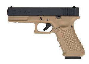 G17 GENERATION 3 WE TAN ET NOIR GBB CULASSE METAL 0.9 JOULE