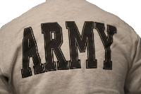 SWEAT SHIRT GRINE CHINE IMPRIME LOGO US ARMY TAILLE L