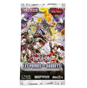1 BOOSTER DE 5 CARTES SUPPLEMENTAIRES YU GI OH LES POINGS DES GADGETS