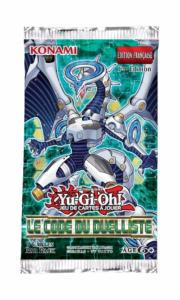 1 BOOSTER DE 9 CARTES SUPPLEMENTAIRES YU GI OH LE CODE DU DUELLISTE