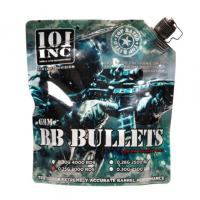 SACHET DE 3000 BILLES GRISES BIODEGRADABLES 0.25 G CALIBRE 6 MM 101 INC